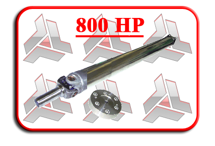 GTO Aluminum 1-piece Driveshaft (3 to choose from)